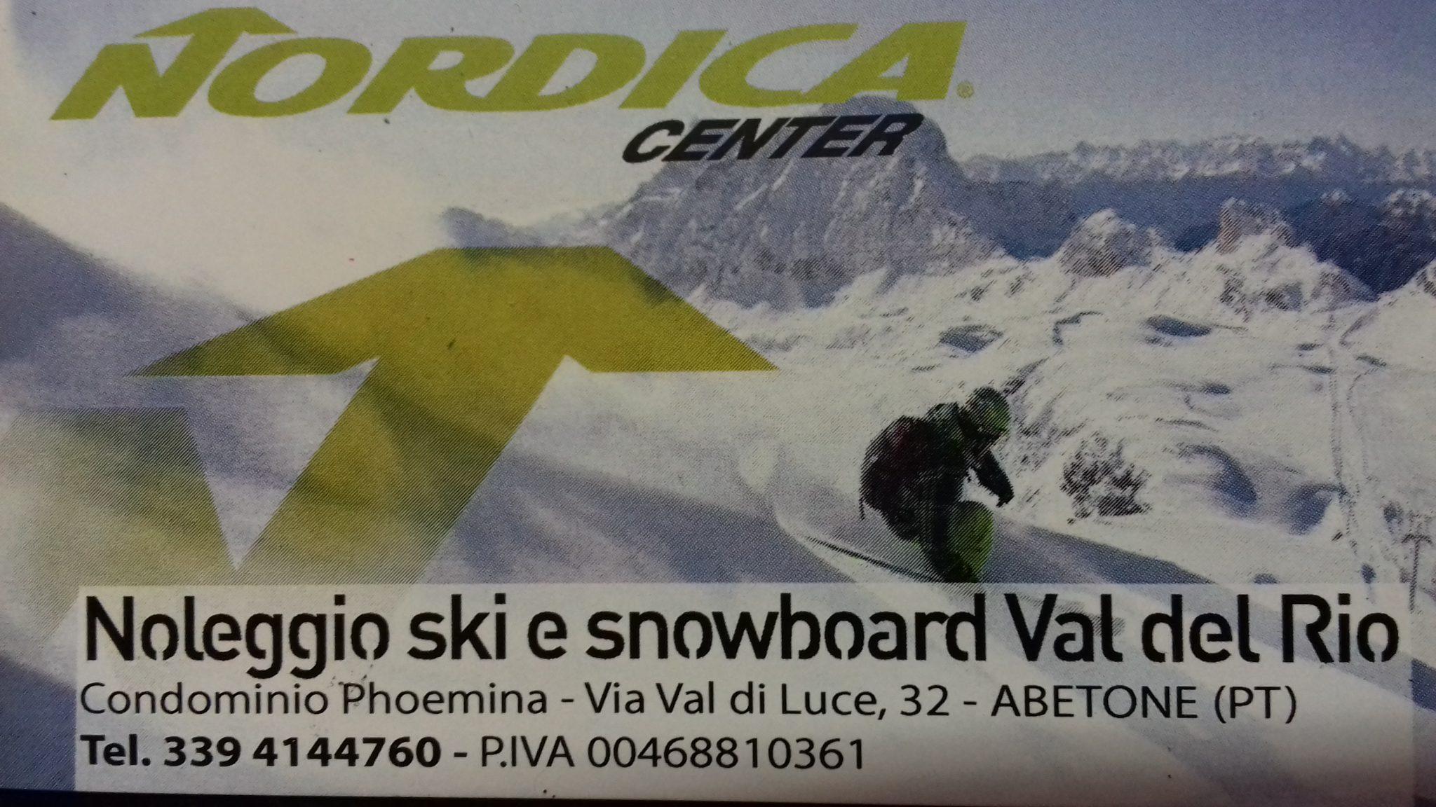 Nordica Center - noleggio ski e snowbord Valle del Rio